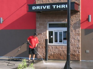 Drive Thru Power Washing